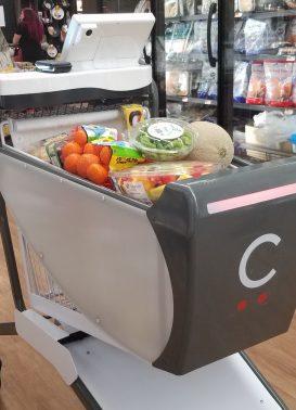 Американский стартап Caper представил умную тележку для использования в супермаркетах
