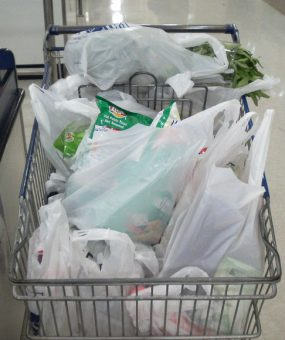 запретить продавать пластиковые пакеты в магазинах